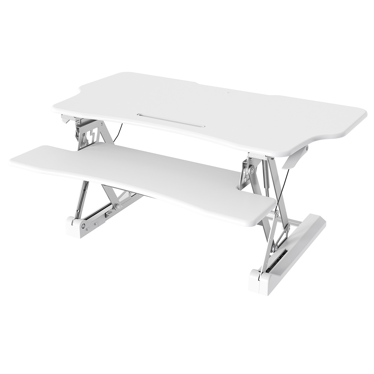 STS-DR46ii 46″ Sit-to-Stand Standing Desk Riser (White)