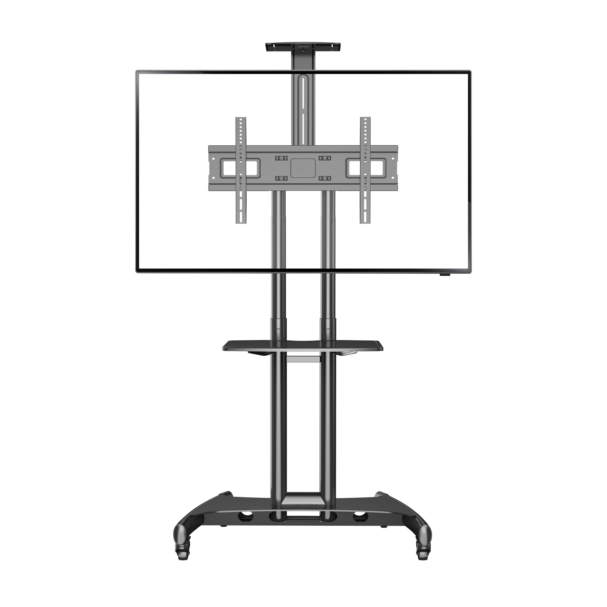 Boost Industries AVC3265ii Universal Multi-Functional Mobile TV Cart Stand for 32″ to 65″ TVs