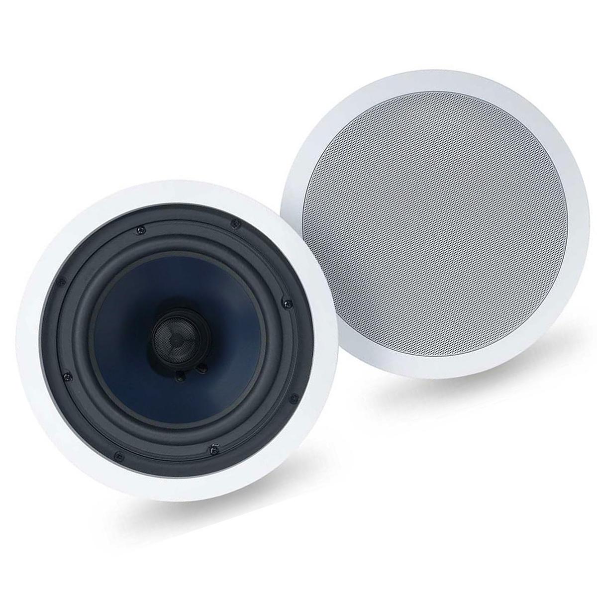 C80 8″ 2-Way In-Ceiling Speakers (Pair)