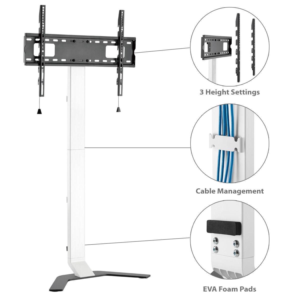 AVFS-3780 Slim TV Floor Wall Stand