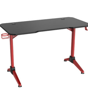 GD120-UR-RD Red Gaming Desk