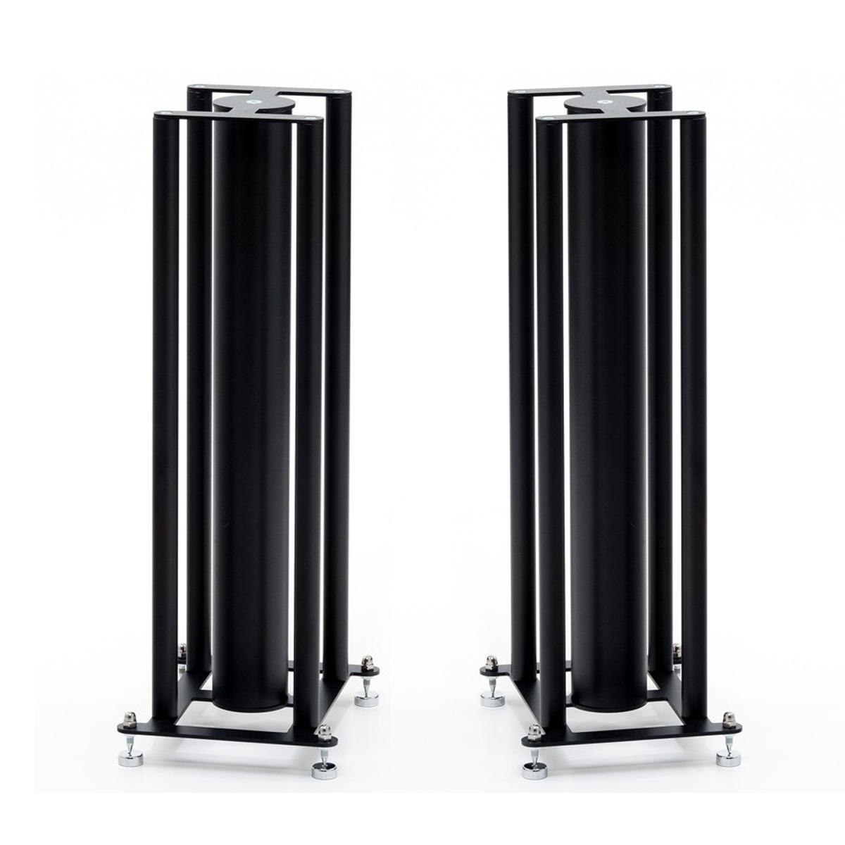 4 Column CD-FS104 Black Speaker Stands (Pair)