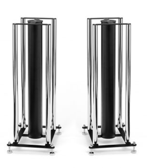CD-FS104 Chrome 4 Column Speaker Stands