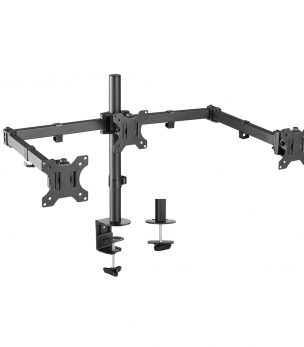 DM-EX30 Triple Arm Deskop Monitor Mount
