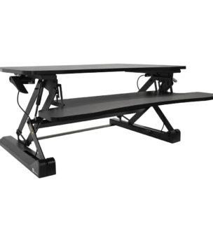 STS-DR35-v3 Black Desk Riser