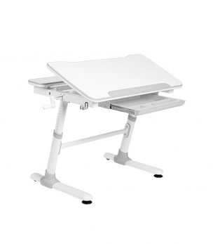 KD38G Height Adjustable Children Desk Grey
