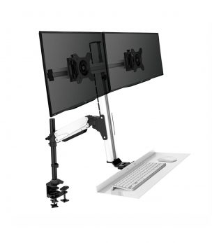 FD2 Dual Monitor Desk Mount