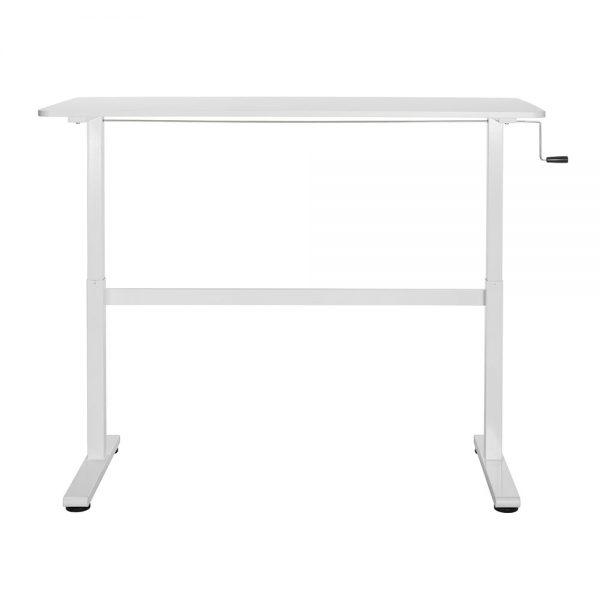 FS-DR22C WH Height Adjustable Desk Frame