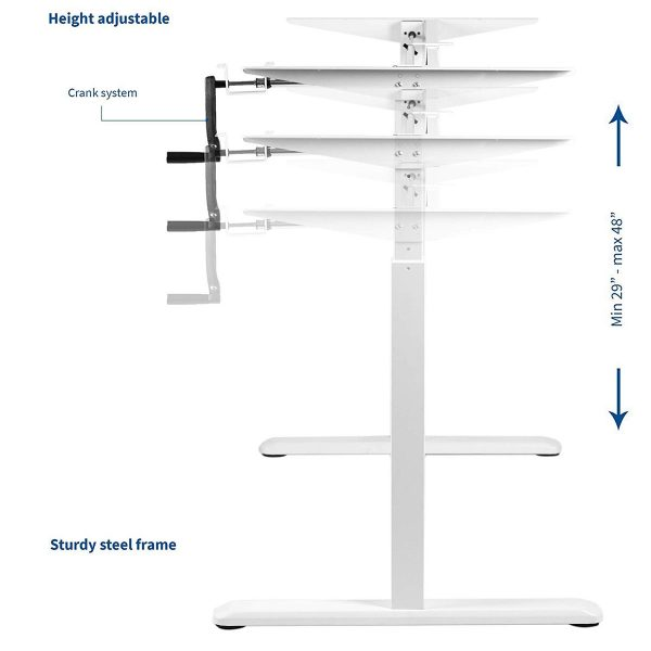 FS-DR22C-WH Height Adjustment