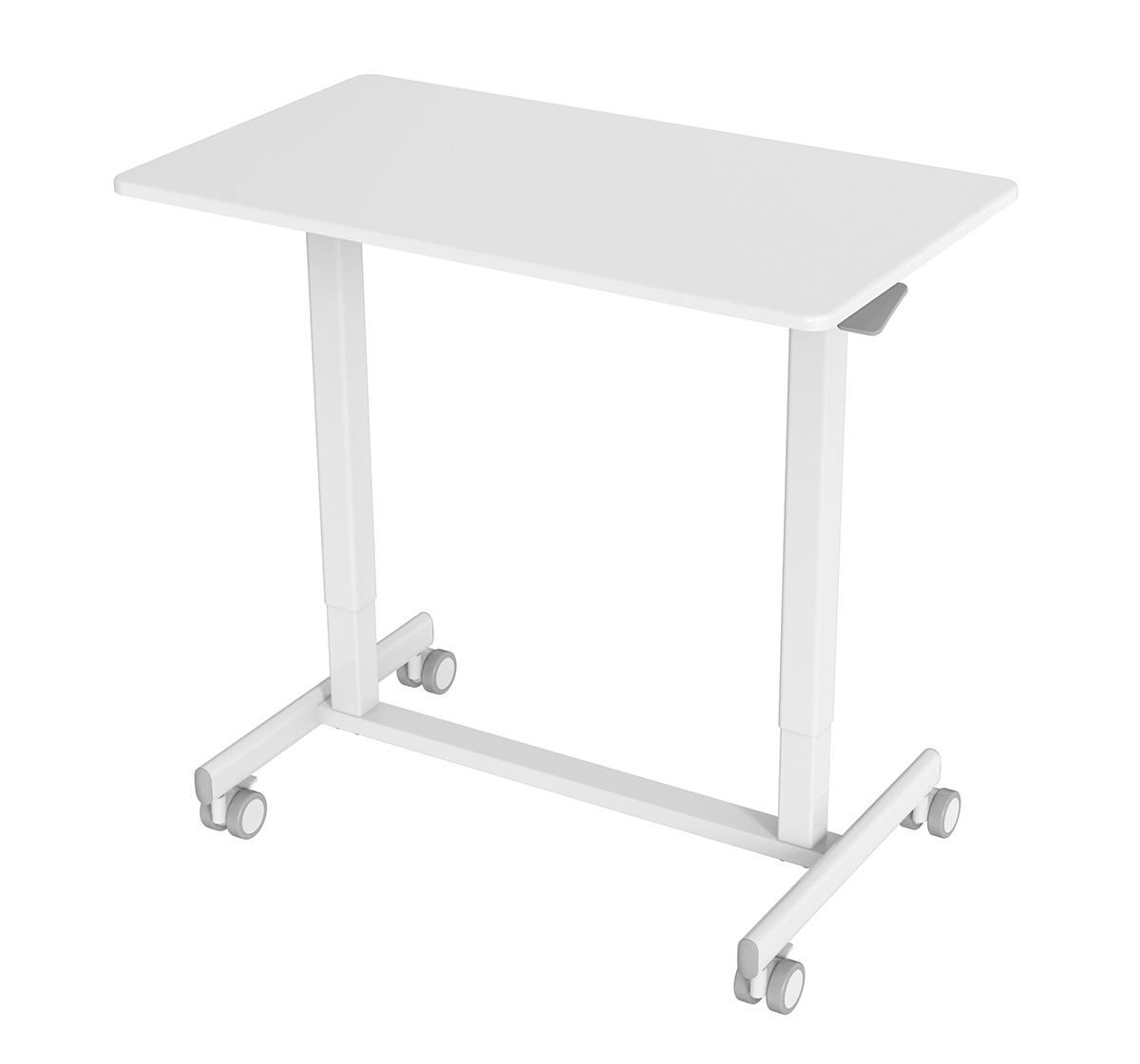 FS-OD35A-WH White Air Lift Desk