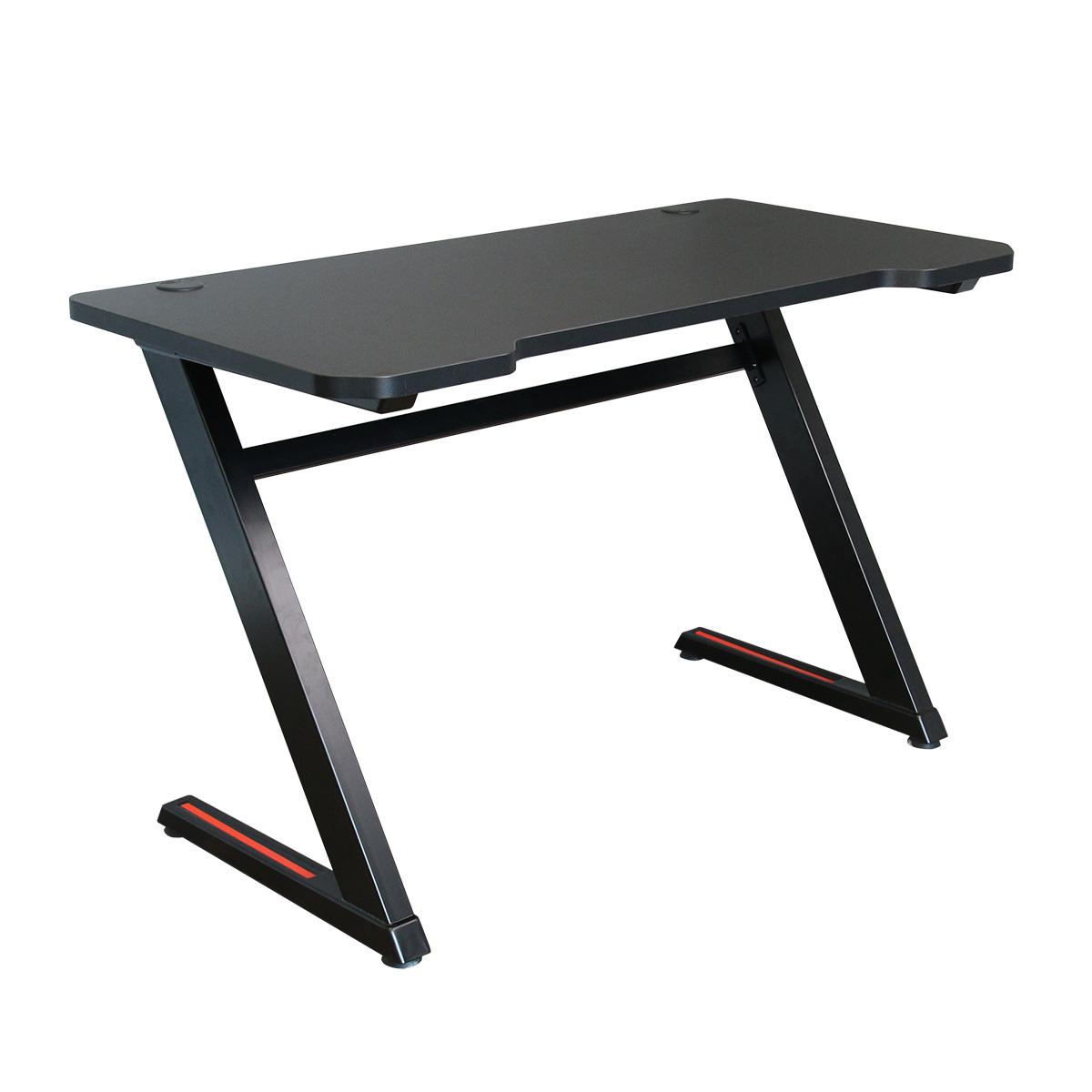 PC Gaming Desk 'Z' MKII – 'E'-Sports Ready (Stealth Black)