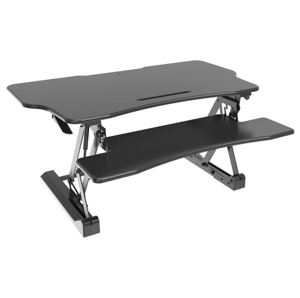 STS-DR42ii 42″ Sit-to-Stand Standing Desk Riser (Black)